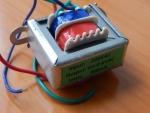 Трансформатор 220V/ 6-0-6V 300mA